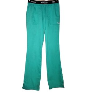Barco Grey's Anatomy green scrub pants size small